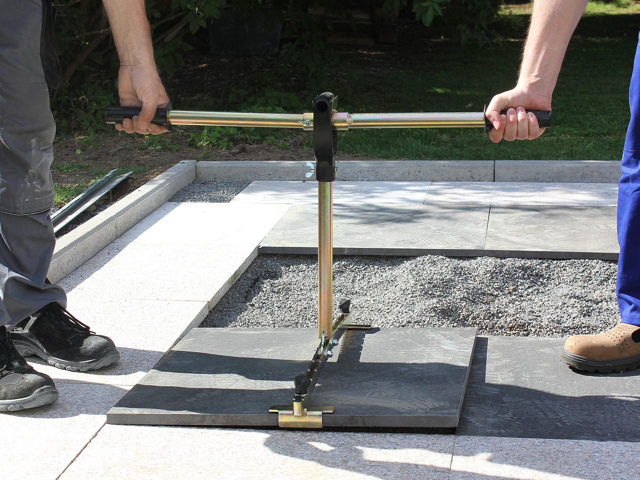 Concrete Slab Lifting : In bundle set offer long fit concrete slab lifter